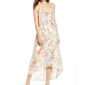 NWT June and Hudson floral hi low dress